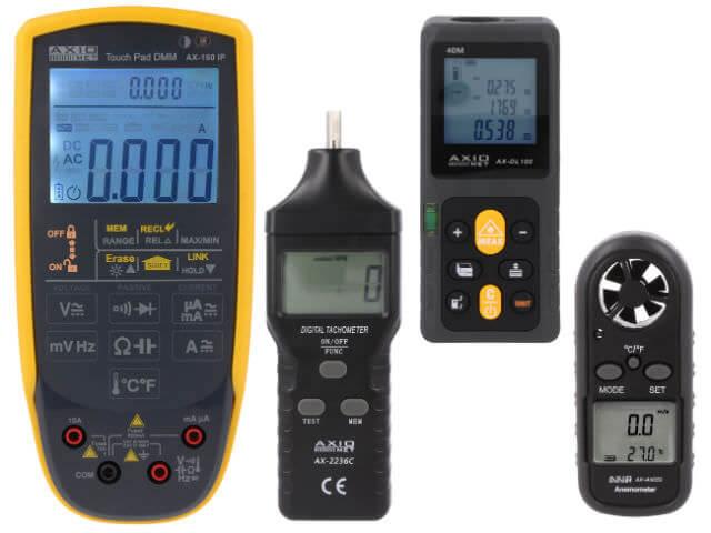 Устройства для различного рода измерений от компании-производителя AXIOMET