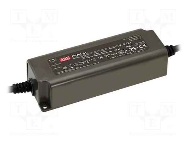 Блоки питания серии PWM, предназначенные для светодиодных лент 12В/24В DC