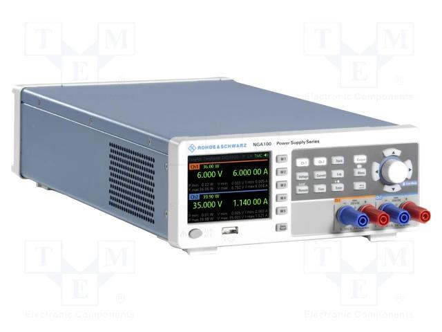 Современные линейные блоки питания производства компании Rohde&Schwarz серии NGA100