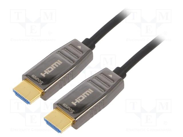 Оптические кабели HDMI и DISPLAYPORT фирмы DIGITUS