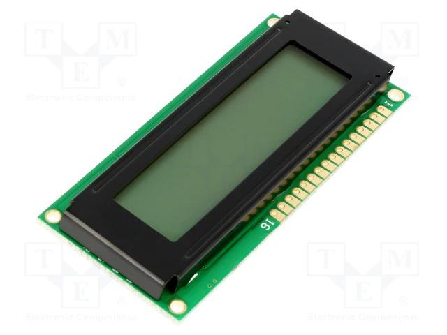 Буквенно-цифровой жк-дисплей с подсветкой