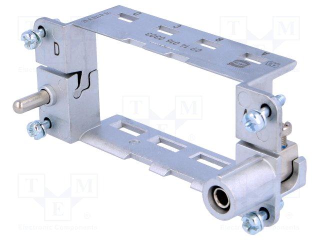 09140160303 от 2032.51 рублей Рамка для модулей; Han Modular; размер 16В; маркировка A..D производства HARTING 09140160303