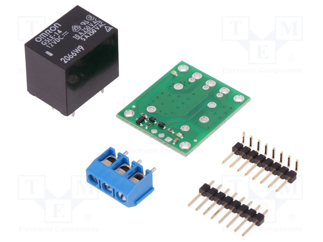 SPDT RELAY CARRIER WITH 12VDC RELAY (PAR