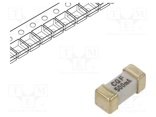 SEF 0.6A 125V (G)