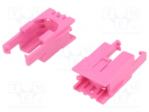 ROMI CHASSIS MOTOR CLIP PAIR - PINK