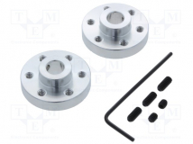 ALUMINUM MOUNTING HUB FOR 1/4? SHAFT #4-