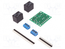 2-CH SPDT RELAY CARRIER WITH 5VDC RELAYS