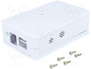 BPI-M1 PLASTIC CASE (WHITE)