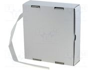 CB-HFT(2X) 12.7 BOX WH