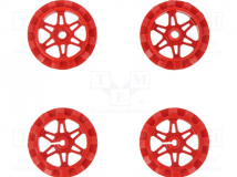 SPROCKET SET FOR ZUMO CHASSIS - RED