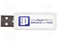 MIKROPASCAL PRO FOR DSPIC30/33 (USB DONG