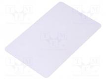 PVC WHITE CARD NTAG213 THERMAL S/N