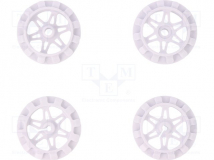 SPROCKET SET FOR ZUMO CHASSIS - WHITE