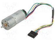 20.4:1 25DX50L MM LP 12V 48 CPR ENCODER