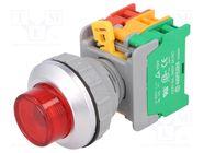 LXL30-1O/C R, W/O LAMP