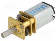 298:1 MICRO METAL GEARMOTOR MP 6V DUAL