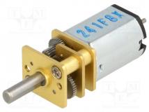 50:1 MICRO METAL GEARMOTOR MP 6V DUAL