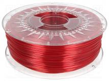 PETG-1.75-RUBY RED TRANSPARENT