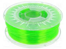 PETG-1.75-BRIGHT GREEN TRANSPARENT