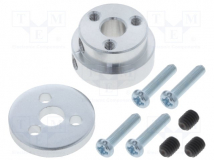 ALUMINUM SCOOTER WHEEL ADAPTER FOR 1/4?
