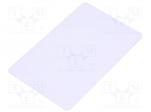 PVC WHITE CARD MIFARE 1K WITH THERMAL UV