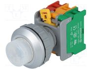 LXL30-1O/C W, W/O LAMP