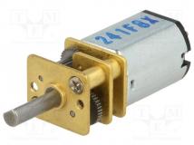 30:1 MICRO METAL GEARMOTOR MP 6V DUAL