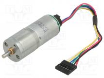 378:1 25DX58L MM LP 12V 48 CPR ENCODER