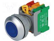 LXB30-1O/C BL, W/O LAMP