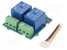 2-CHANNEL SPDT RELAY