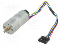 9.7:1 25DX48L MM MP 12V 48 CPR ENCODER