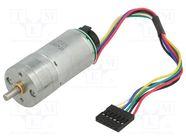 4.4:1 25DX48L MM LP 12V 48 CPR ENCODER