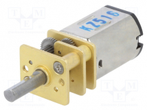 15:1 MICRO METAL GEARMOTOR MP 6V