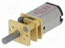 15:1 MICRO METAL GEARMOTOR HPCB 6V EXT.