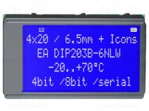EA DIP203B-6NLW