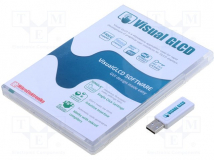 VISUAL GLCD WITH USB DONGLE LICENSE