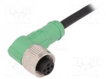 SAC-4P-5,0-PVC/M12FR
