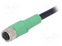 SAC-4P-5,0-PVC/M8FS