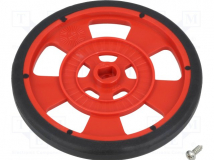 GMPW-R RED WHEEL WITH ENCODER STRIPES