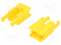 ROMI CHASSIS MOTOR CLIP PAIR - YELLOW