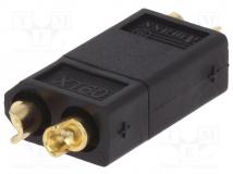 XT60 CONNECTOR BLACK