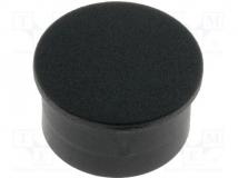 K85 CAPS BLACK PLAIN