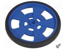 GMPW-LB BLUE WHEEL WITH ENCODER STRIPES
